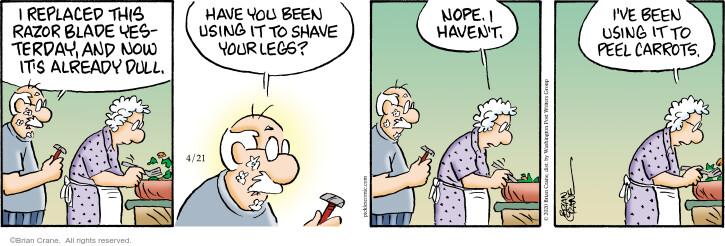 Comic Strip Brian Crane  Pickles 2020-04-21 now