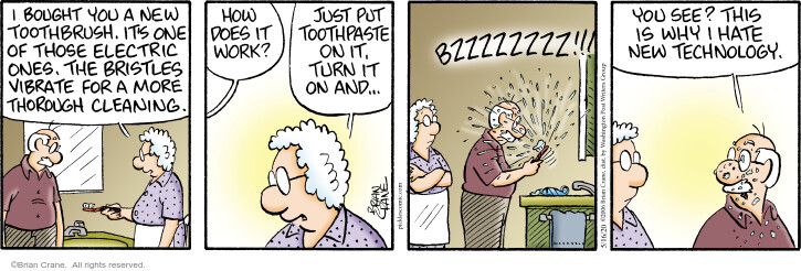 Comic Strip Brian Crane  Pickles 2020-05-16 dental cleaning
