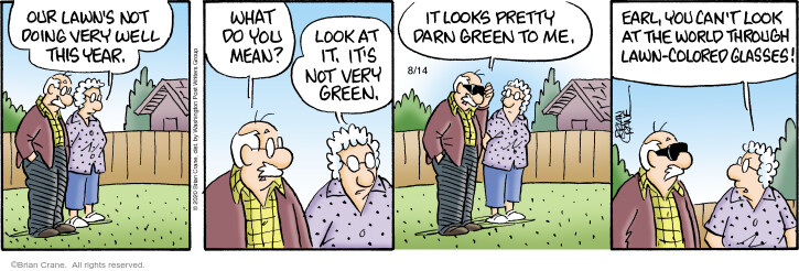Comic Strip Brian Crane  Pickles 2020-08-14 can