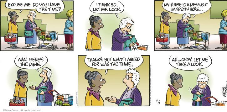 Comic Strip Brian Crane  Pickles 2020-11-01 ask