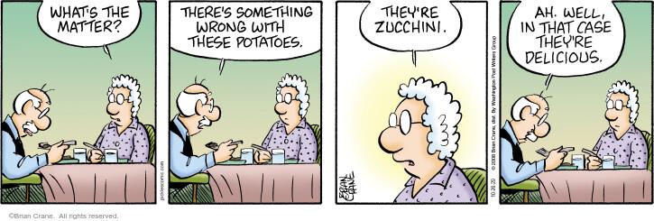 Comic Strip Brian Crane  Pickles 2020-10-26 they