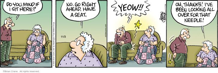 Comic Strip Brian Crane  Pickles 2020-11-03 look