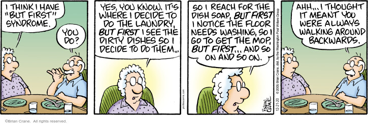 Comic Strip Brian Crane  Pickles 2020-12-21 housecleaning