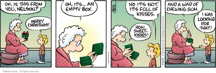 Comic Strip Brian Crane  Pickles 2020-12-25 give