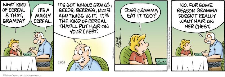 Comic Strip Brian Crane  Pickles 2020-12-26 want