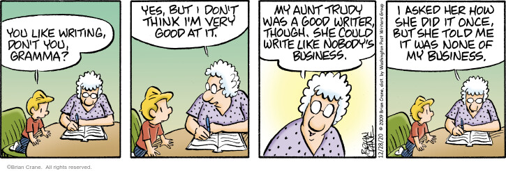Comic Strip Brian Crane  Pickles 2020-12-28 secret