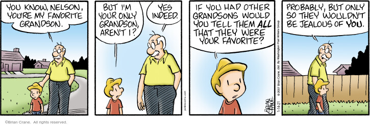 Comic Strip Brian Crane  Pickles 2021-01-14 your