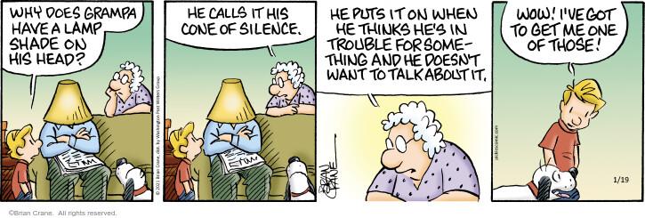 Comic Strip Brian Crane  Pickles 2021-01-19 have