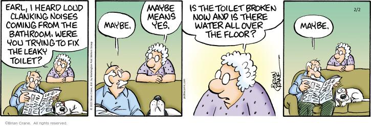 Comic Strip Brian Crane  Pickles 2021-02-02 all