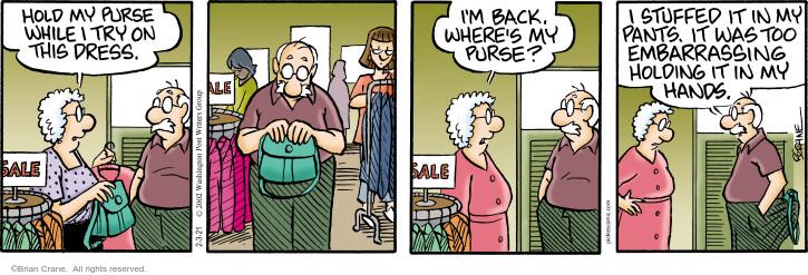 Comic Strip Brian Crane  Pickles 2021-02-03 spouse