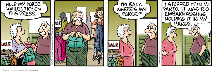 Comic Strip Brian Crane  Pickles 2021-02-03 wife