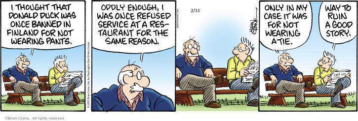 Comic Strip Brian Crane  Pickles 2021-02-13 thought