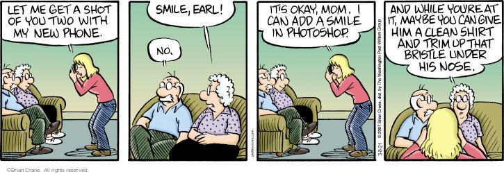 Comic Strip Brian Crane  Pickles 2021-03-08 okay