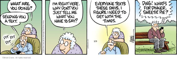 Comic Strip Brian Crane  Pickles 2021-03-09 have