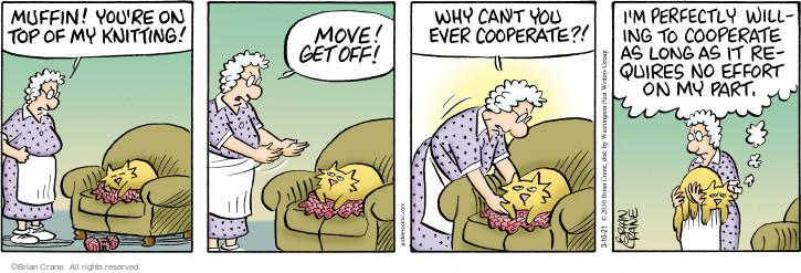 Comic Strip Brian Crane  Pickles 2021-03-10 cat