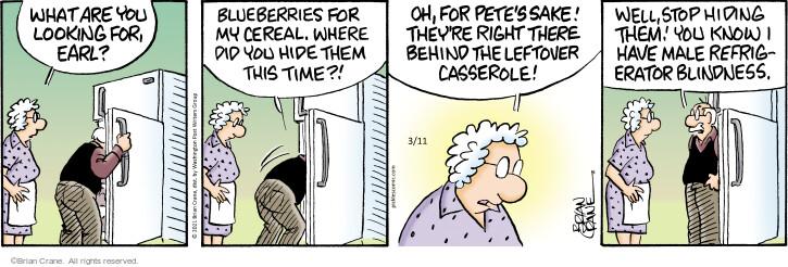 Comic Strip Brian Crane  Pickles 2021-03-11 know