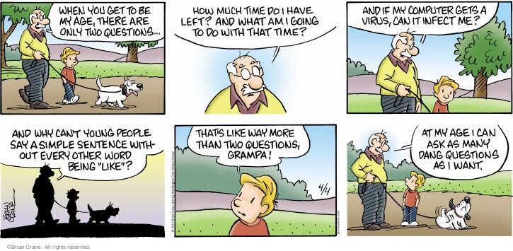 Comic Strip Brian Crane  Pickles 2021-04-04 like