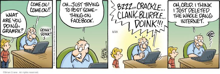 Comic Strip Brian Crane  Pickles 2021-03-23 think