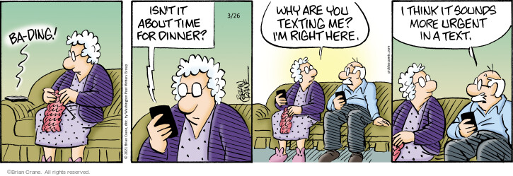 Comic Strip Brian Crane  Pickles 2021-03-26 think