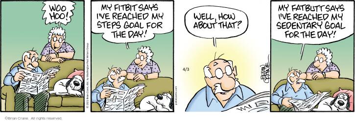 Comic Strip Brian Crane  Pickles 2021-04-03 strip