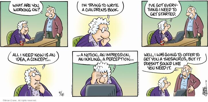 Comic Strip Brian Crane  Pickles 2021-04-18 like