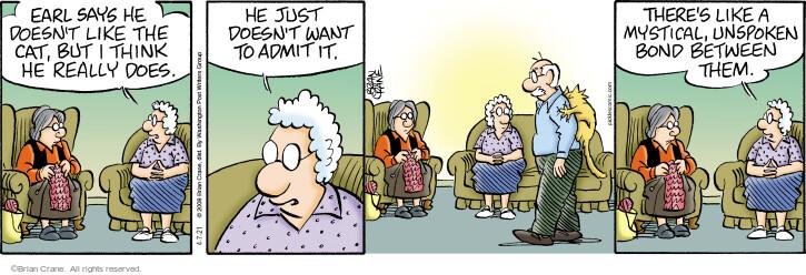 Comic Strip Brian Crane  Pickles 2021-04-07 cat