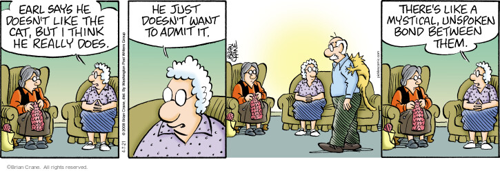 Comic Strip Brian Crane  Pickles 2021-04-07 want