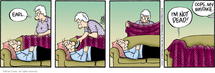 Comic Strip Brian Crane  Pickles 2021-04-16 strip