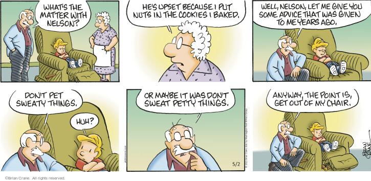 Comic Strip Brian Crane  Pickles 2021-05-02 put