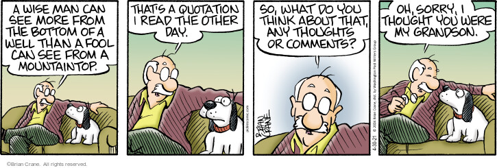Comic Strip Brian Crane  Pickles 2021-04-30 dog