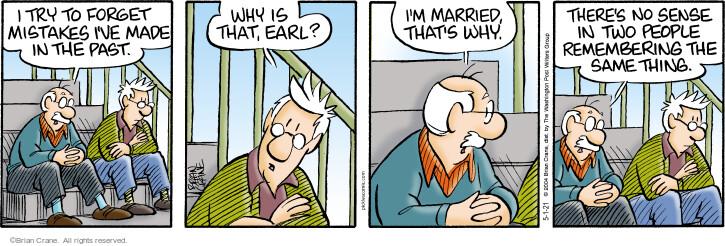 Comic Strip Brian Crane  Pickles 2021-05-01 why