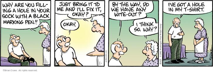 Comic Strip Brian Crane  Pickles 2021-05-03 think