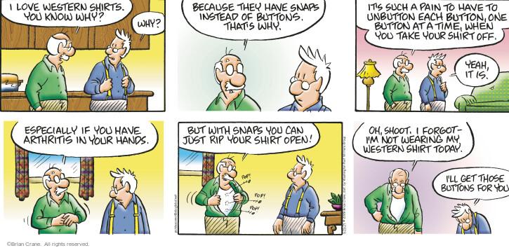 Comic Strip Brian Crane  Pickles 2021-05-23 have