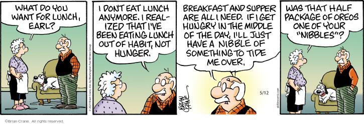 Comic Strip Brian Crane  Pickles 2021-05-12 have