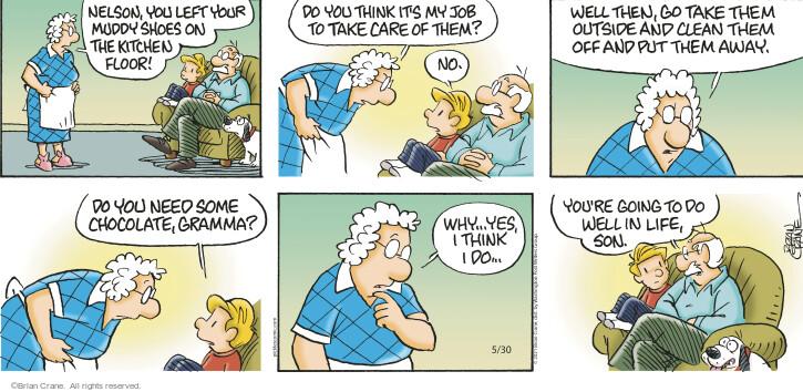 Comic Strip Brian Crane  Pickles 2021-05-30 put
