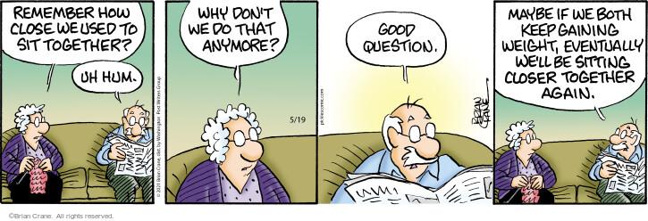 Comic Strip Brian Crane  Pickles 2021-05-19 relationship
