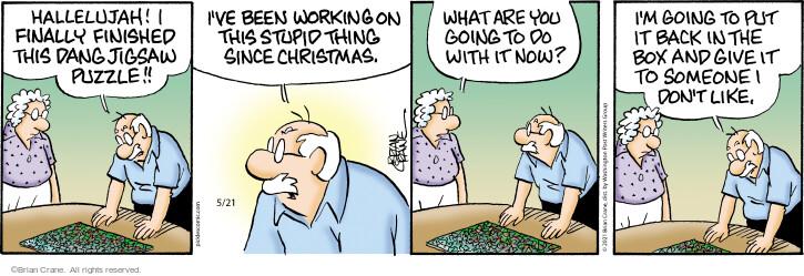 Comic Strip Brian Crane  Pickles 2021-05-21 put