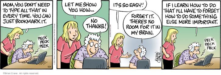 Comic Strip Brian Crane  Pickles 2021-05-24 have