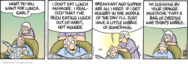 Comic Strip Brian Crane  Pickles 2021-06-08 have