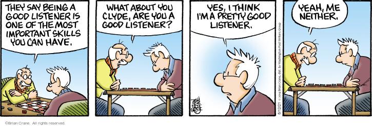 Comic Strip Brian Crane  Pickles 2021-06-12 have