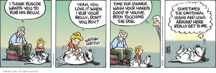 Comic Strip Brian Crane  Pickles 2021-06-18 originally