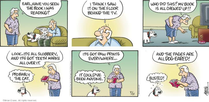 Comic Strip Brian Crane  Pickles 2021-07-11 Earl