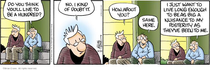 Comic Strip Brian Crane  Pickles 2021-06-30 they