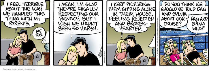 Comic Strip Brian Crane  Pickles 2021-07-07 they