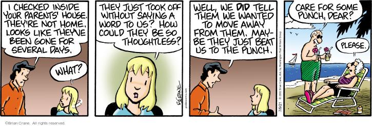 Comic Strip Brian Crane  Pickles 2021-07-09 they