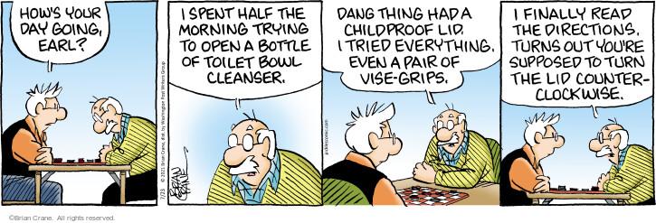 Comic Strip Brian Crane  Pickles 2021-07-23 Earl