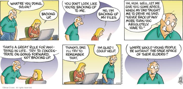 Comic Strip Brian Crane  Pickles 2021-08-15 than