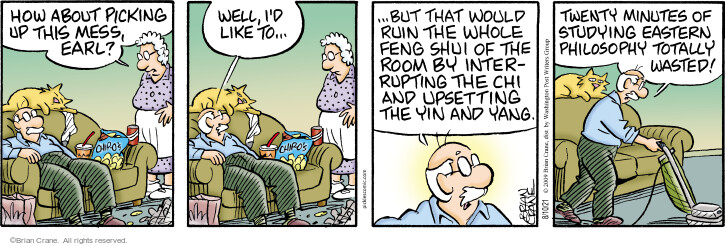 Comic Strip Brian Crane  Pickles 2021-08-10 Brian