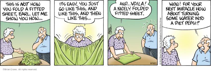 Comic Strip Brian Crane  Pickles 2021-08-19 originally