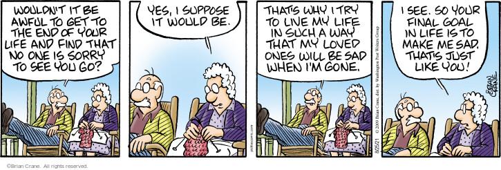 Comic Strip Brian Crane  Pickles 2021-08-25 relationship